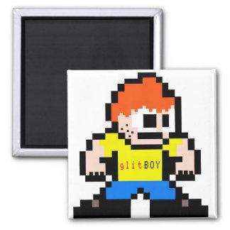 8-Bit glit Magnet
