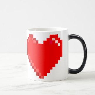 '8-bit Heart' Pixel Art Retro Coffee Mug