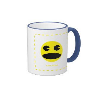 8 Bit Hero Ringer Mug