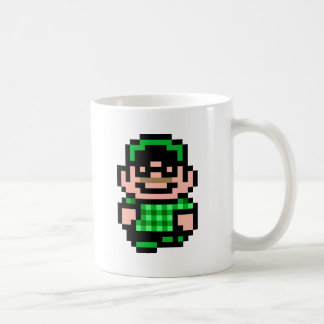 8-Bit Hipster Coffee Mug