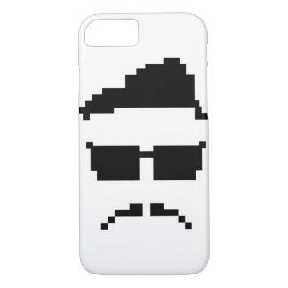 8-bit hipster iPhone 7 case