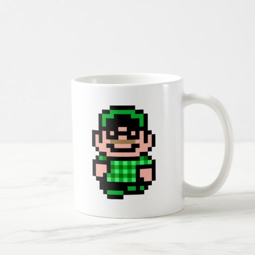 8-Bit Hipster Mug