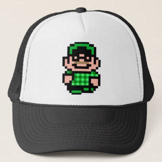 8-bit Hipster Trucker Hat