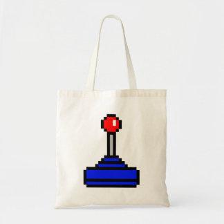 8 Bit Joystick Tote Bag