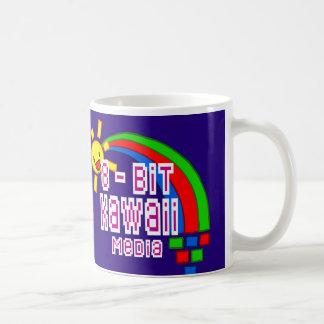8-Bit Kawaii Media cup Basic White Mug