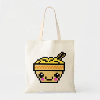 8 Bit Kawaii Ramen Tote Bag