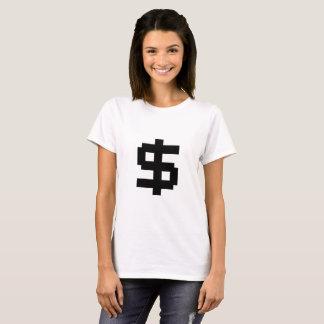 8 Bit Money - Dark T - Womens T-Shirt