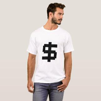 8 Bit Money - White T T-Shirt