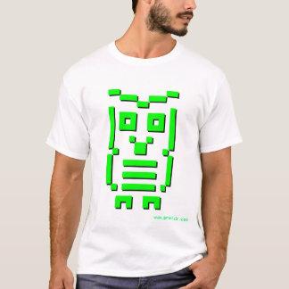 8-Bit Owl (Digital Green) T-Shirt