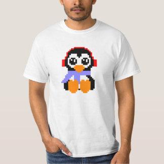 8 Bit Penguin T-Shirt