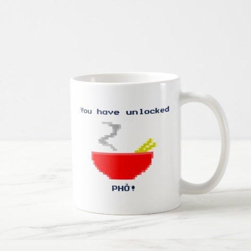 8-Bit Pho Coffee Mugs