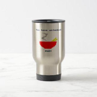8-Bit Pho Stainless Steel Travel Mug