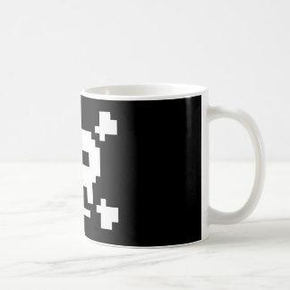8 Bit Pirate Basic White Mug