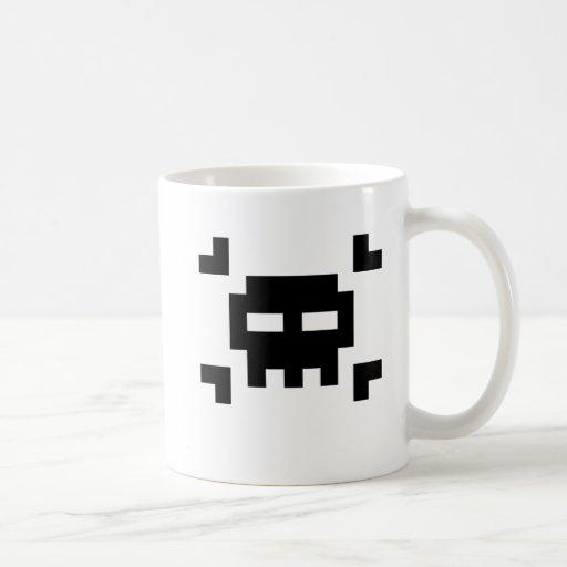 8-Bit Pirate Coffee Mugs