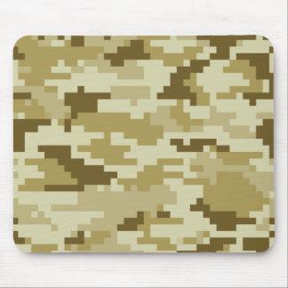 8 Bit Pixel Desert Camouflage / Camo Mouse Mat