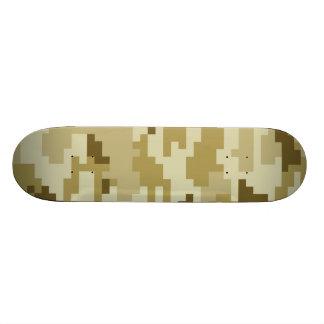 8 Bit Pixel Desert Camouflage Skateboard Skate Boards