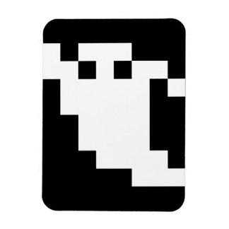 8 Bit Pixel Ghost Magnet