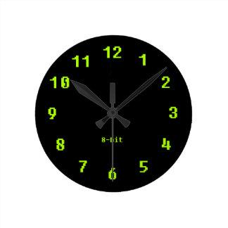 8-Bit Pixel Round Clock