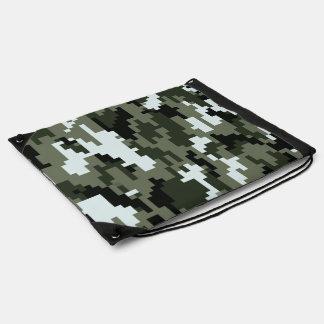 8 Bit Pixel Urban Camouflage Rucksacks