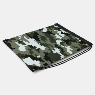8 Bit Pixel Urban Camouflage / Camo Rucksacks