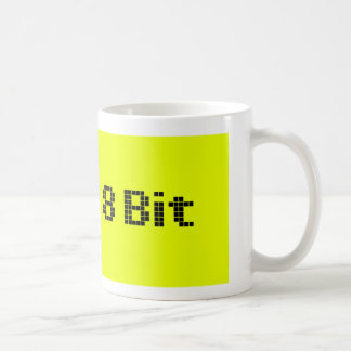 8 Bit Pixelated Yellow/Black Coffee Mug