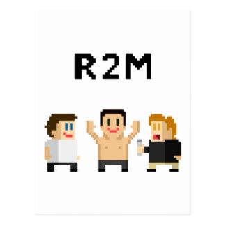 8 bit R2M Postcard