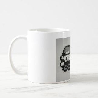 8 bit retro coffee mug