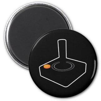 8-bit retro gaming joystick fridge magnet