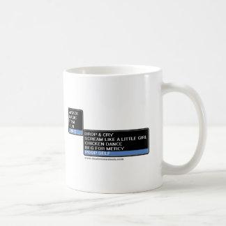 8 Bit RPG Battle Menu Coffee Mug