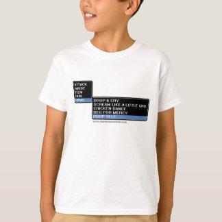 8 Bit RPG Battle Menu T-Shirt