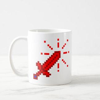 8 Bit RPG Sword Basic White Mug