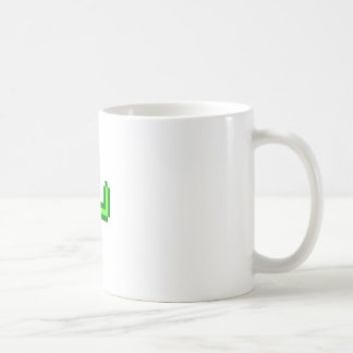 8-bit Saguaro Cactus Coffee Mug