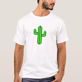 8-bit Saguaro Cactus T-Shirt