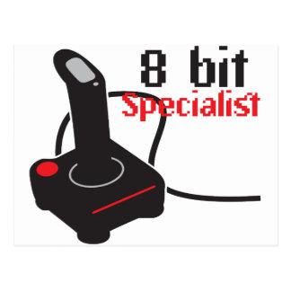 8 Bit Specialist Postcard