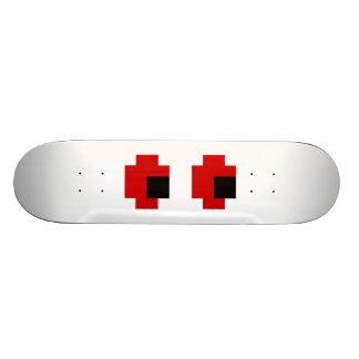 8 Bit Spooky Red Eyes Skate Boards