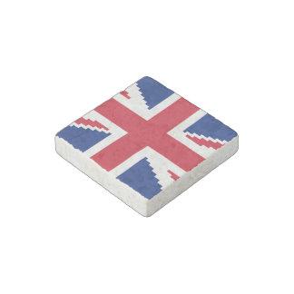 8 Bit Union Pixel Jack Stone Magnet