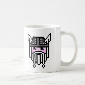 8 Bit Viking Basic White Mug