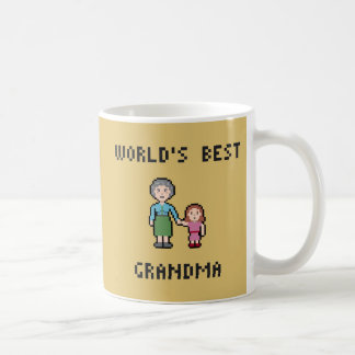 8 Bit World's Best Grandma Mug