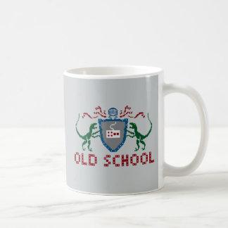 8 Bits Old School Velociraptor Mug