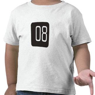 #8 Black Square Tshirt
