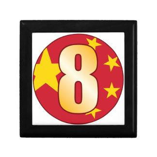 8 CHINA Gold Gift Box