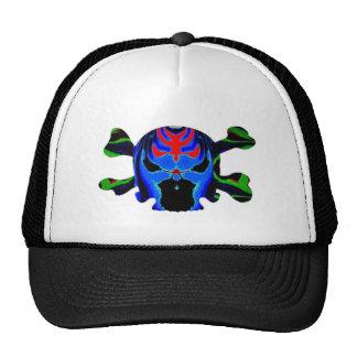 8 Colorful Skulls - ART101 Halloween Collection Cap