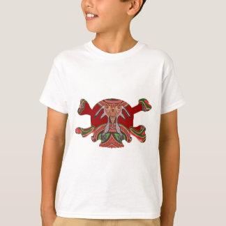 8 Colourful Skulls - ART101 Halloween Collection T-Shirt