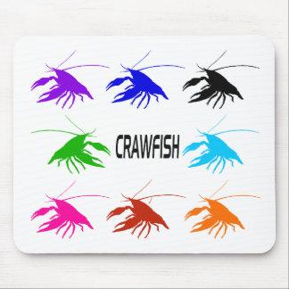 8 crawfish マウスパッド