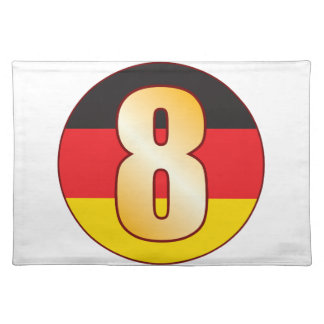 8 GERMANY Gold Placemat