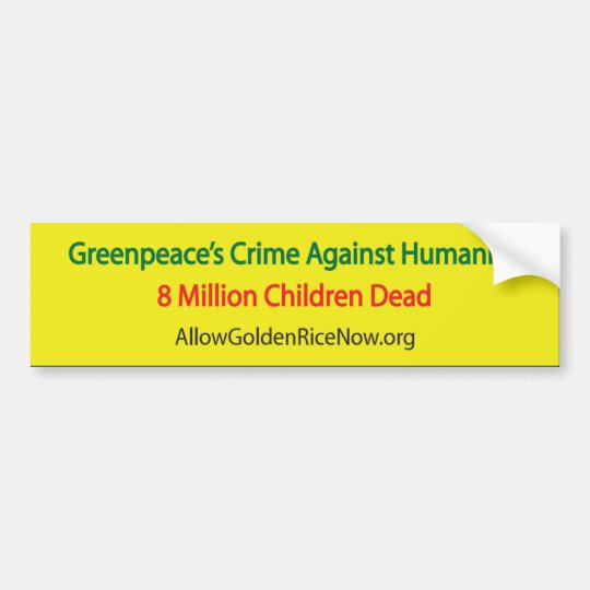 8 Million Dead Bumper Sticker