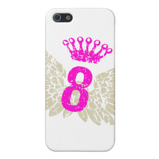 #8 Raspberry Wings iPhone 5/5S Cover
