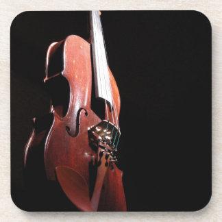 8 violin Zaz JPG Coasters