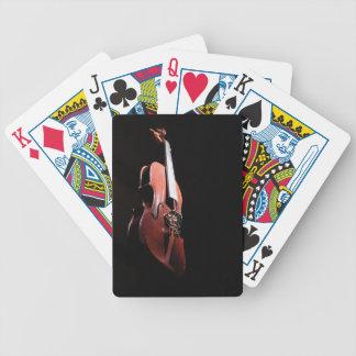 8 violin Zaz JPG Bicycle Card Deck
