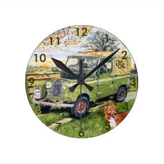 "8"" Wall Clock ""FARM"" Design"